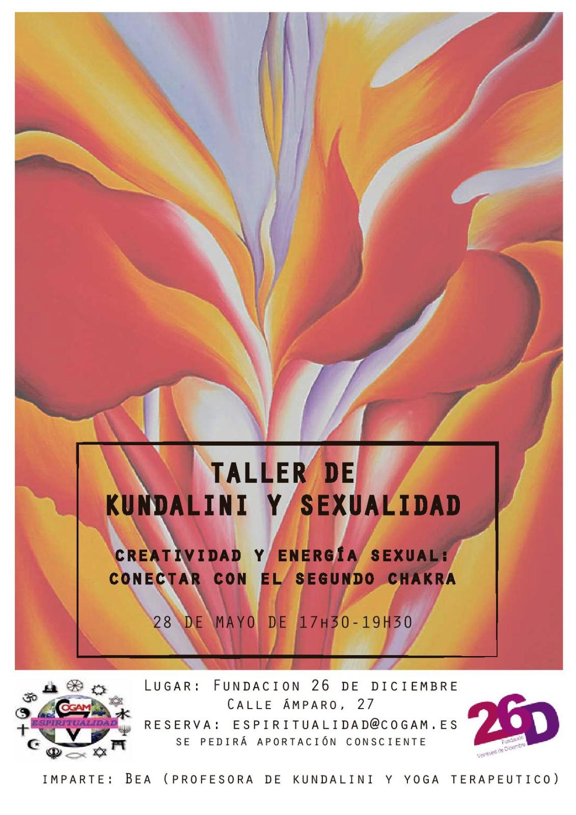 Taller de Kundalini y Sexualidad @ Fundación 26 de Diciembre