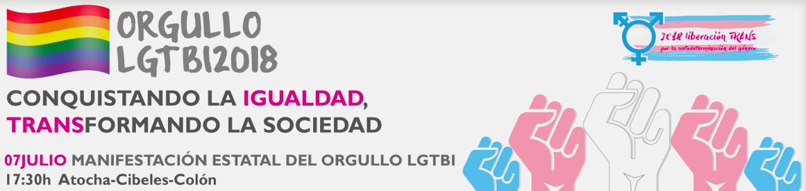 Información Orgullo LGTBI 2018